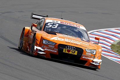 Audi celebrates one-two-three-four win at Lausitzring