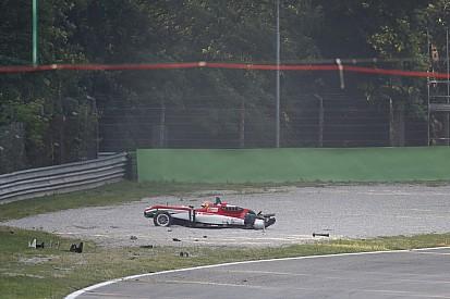 Acidente impressionante marca a prova da F3 em Monza