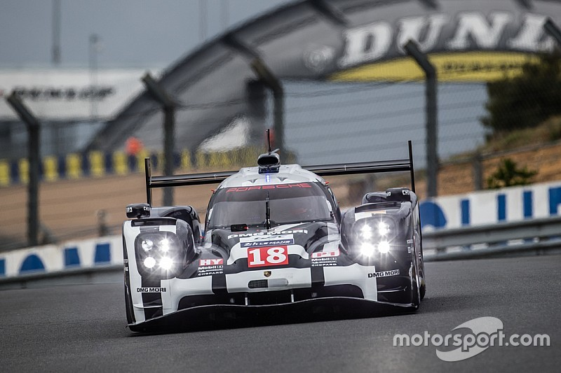 Porsche beats Le Mans Test Day lap record
