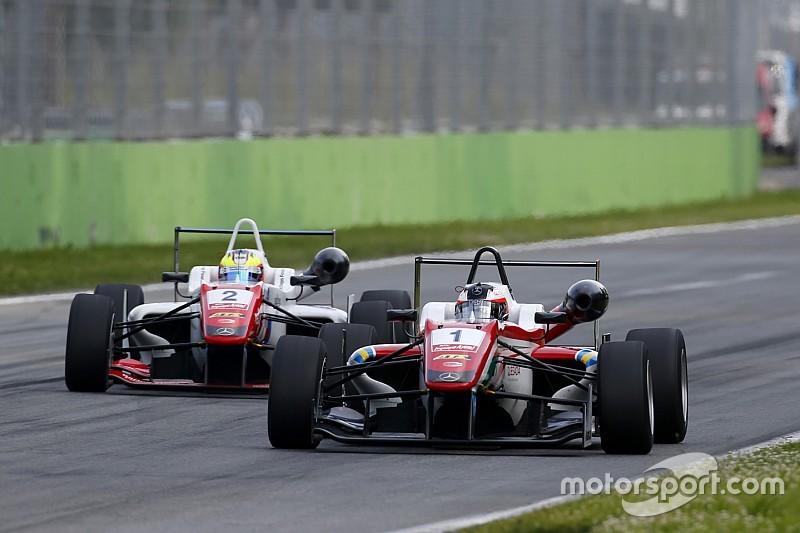Rosenqvist completes hat-trick in shortened Monza finale