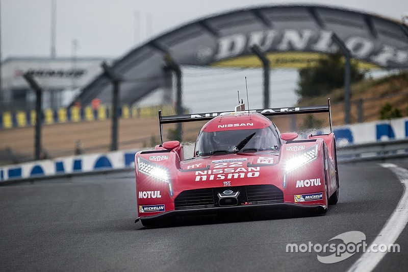 Nissan completes busy LM P1 test at Le Mans
