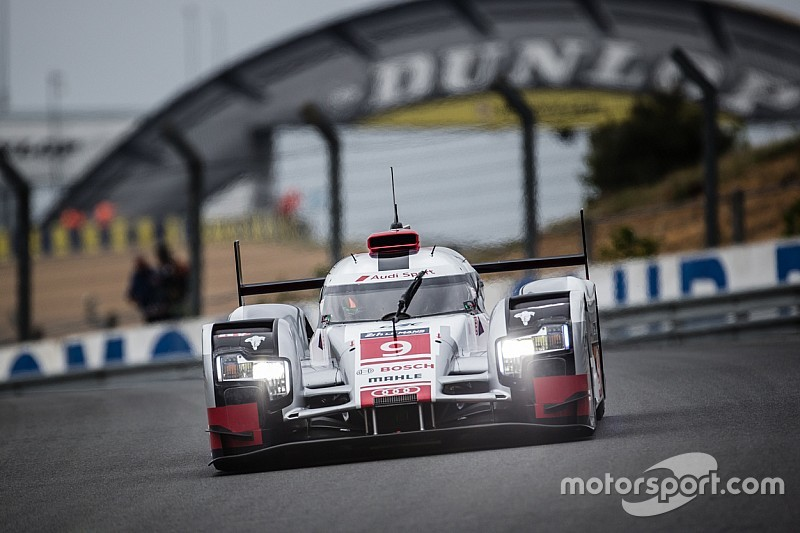 Positive test day for Audi at Le Mans