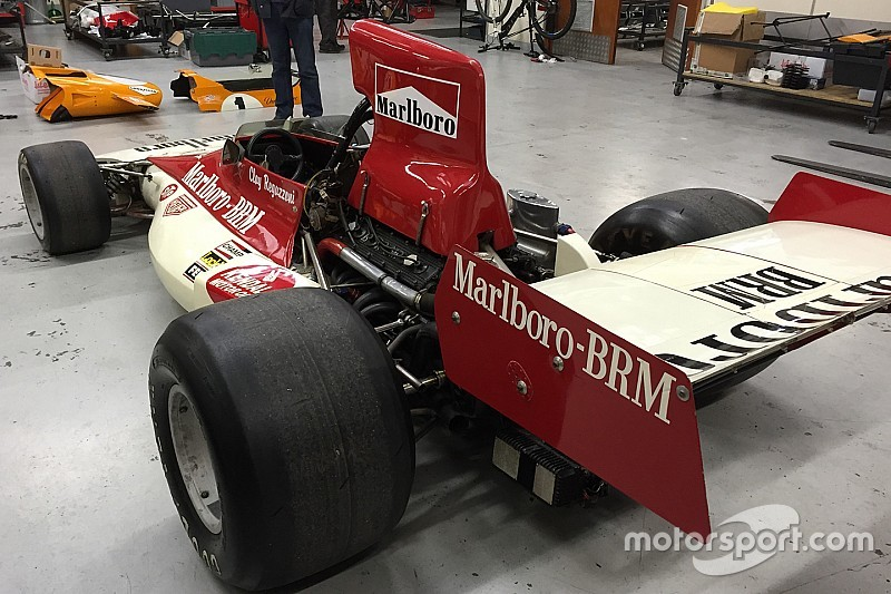 'Rush' BRM to race in Sydney