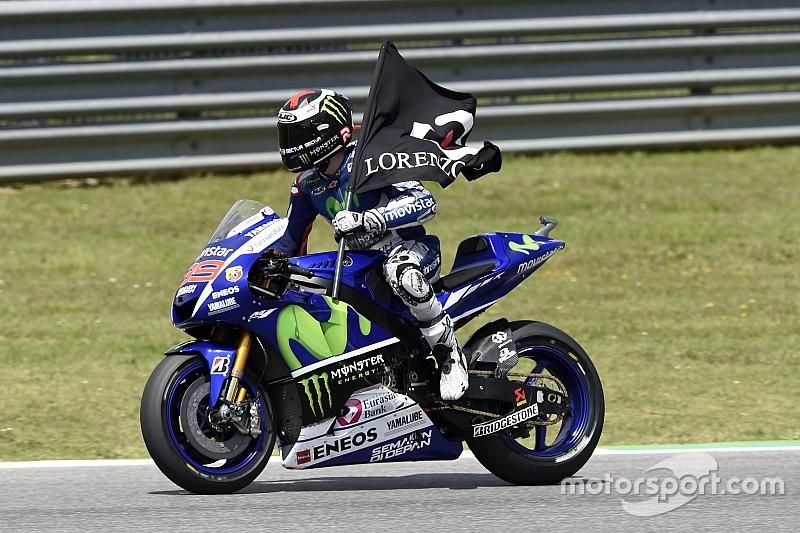 "Lorenzo ha sido ""muy rápido"", admite Rossi"