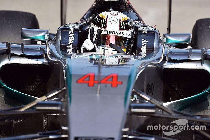 Lewis Hamilton, contento de llegar a Canadá