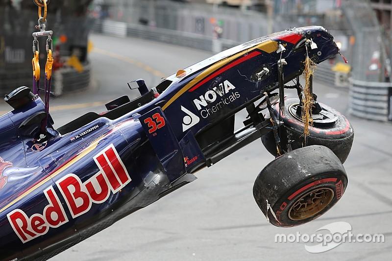 """Verstappen deja atrás el """"accidente más grande"""" de su carrera"""