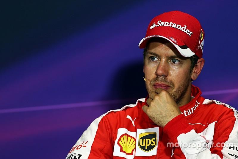 Vettel no se inmuta con las críticas de Ecclestone