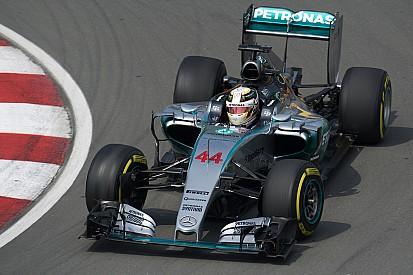 Encouraging start for Mercedes in Montreal