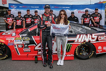Kurt Busch takes the pole at Pocono
