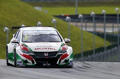 Тарквини продолжает задавать темп на Moscow Raceway