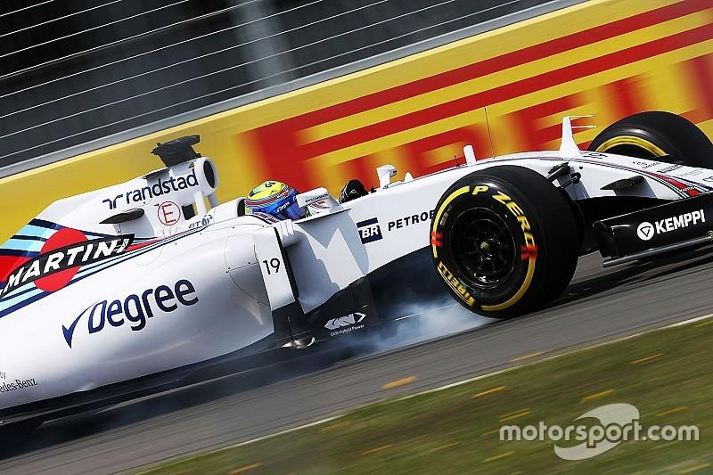 Cortado no Q1, Massa reclama de falta de potência no motor