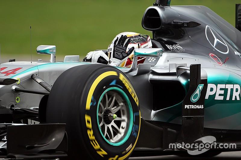 """44ª para o 44: Hamilton exalta coincidência em pista """"especial"""""""