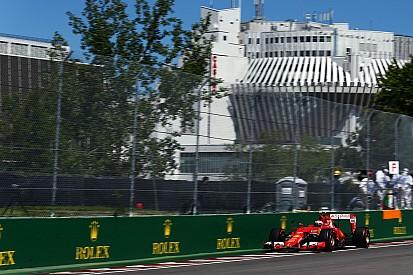 Em terceiro, Kimi aposta as fichas na largada para incomodar Mercedes
