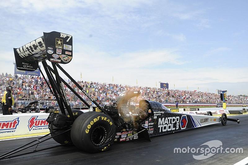 Brown, Pedregon, Anderson, Ellis top NHRA qualifying