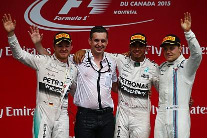 Hamilton passeia e triunfa pela quarta vez no Canadá