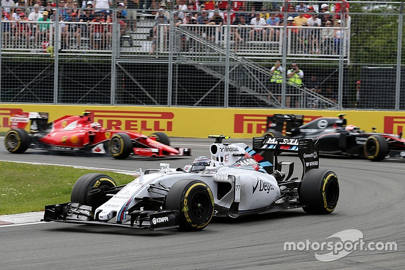 Bottas finished third and Massa sixth in today's Canadian GP