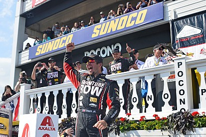 "Truex enjoys ""the biggest win of his career"""