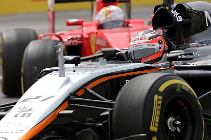 Após rodar, Hulkenberg reconhece erro em disputa com Vettel