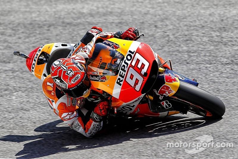 Márquez sabe que falta preparar mejor la moto