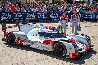 Audi rules out fighting Porsche for pole