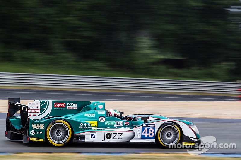 Patterson escapes session-stopping Le Mans accident