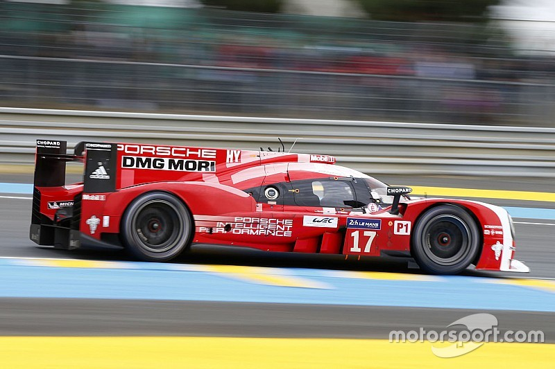 Webber fastest for Porsche in opening Le Mans practice