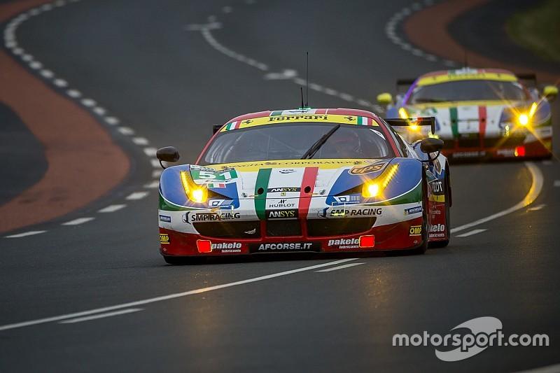 Ferrari en embuscade en GTE Pro