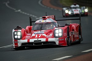 Le Mans Qualifying report Porsche 919 Hybrids to start one, two and three