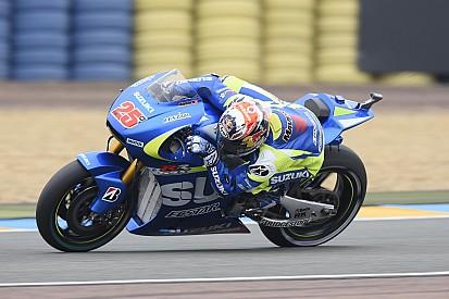Гонщики Suzuki стали быстрейшими в третьей тренировке