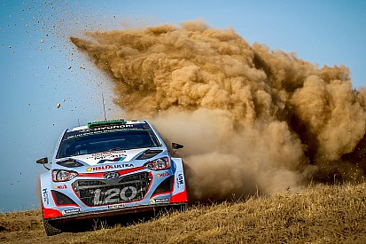 Hyundai Motorsport continues podium push on penultimate day in Sardinia