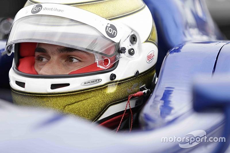 Em estreia na Indy Lights, Nelsinho Piquet abandona após forte acidente