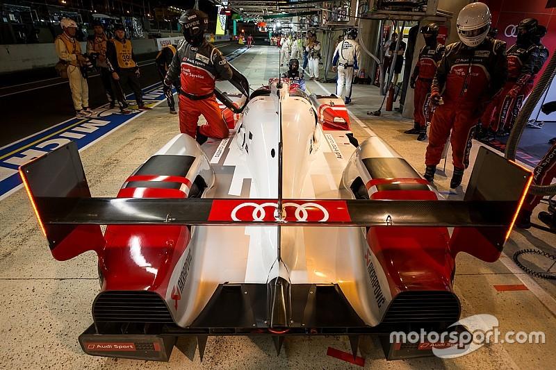 Advantage Porsche as #7 Audi falters