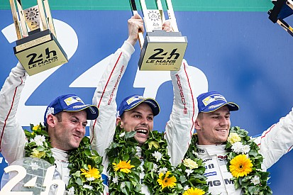 One-two for the Porsche 919 Hybrids in Le Mans