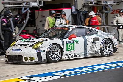 Moins de réussite pour Porsche en GTE Pro