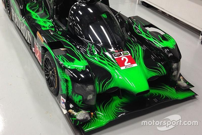 Honda à Pikes Peak avec un prototype LMP2