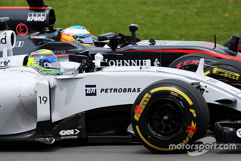 Massa dice que la Fórmula 1 es bastante peligrosa