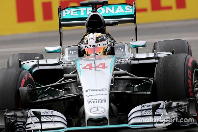 La F1 moderna es más difícil de lo que parece, dice Hamilton