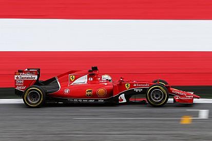 Vettel and Raikkonen in top three Friday practice for the Austrian GP