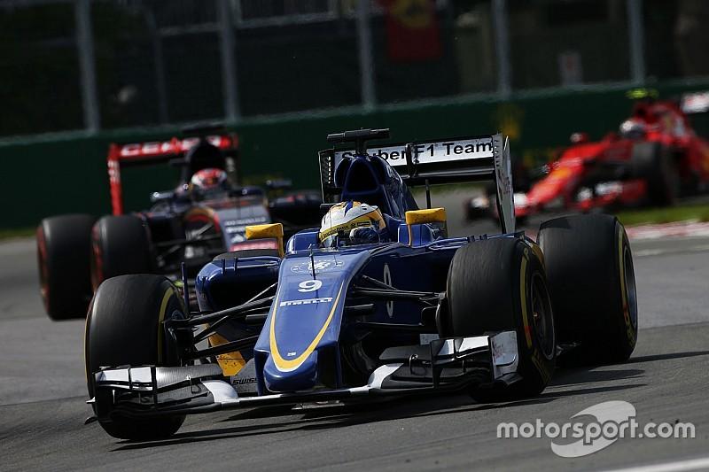 Sauber has a good Friday practice in Austria
