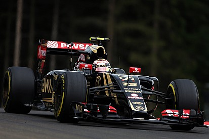 The Lotus E23 Hybrid showed strong potential on Austrian GP practice day
