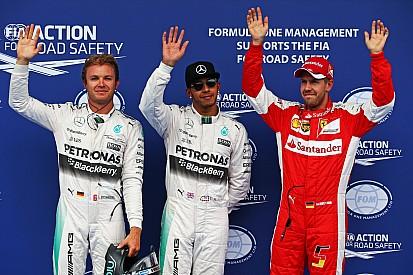 Austrian GP: Hamilton makes it a year of Mercedes poles