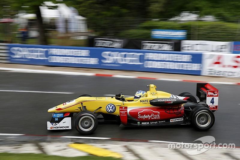 Accidente de Menezes marca segunda carrera en Spa