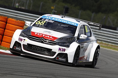 Citroën claims qualifying treble at the Slovakia Ring