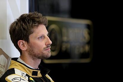 Abandon pour un Grosjean frustré