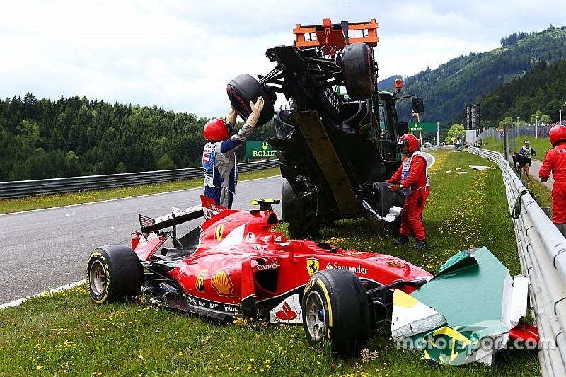 Räikkönen explique son accident avec Alonso