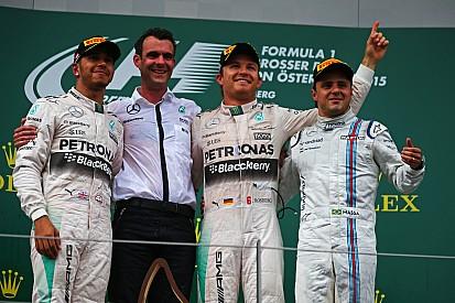 Com boa largada, Rosberg vence terceira do ano; Massa é pódio