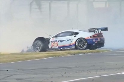 Goethe sets record straight on back-breaking Aston crash