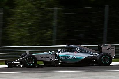 Rosberg keeps Mercedes on top in Austria test