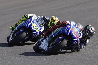 Rossi et Lorenzo ont le nouveau châssis Yamaha à Assen