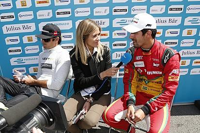 Quand Piquet et di Grassi se disputent devant les médias